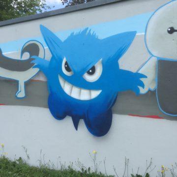 Graffiti-Projekt in Gröditz