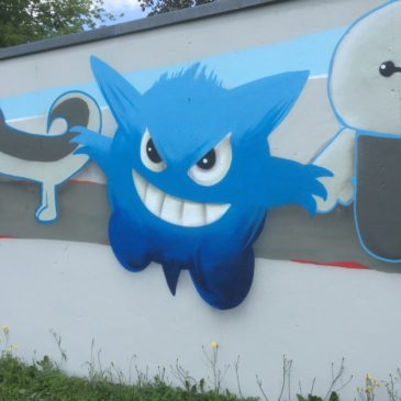 Graffiti-Projekt in Gröditz